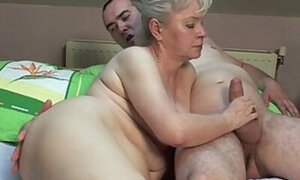 Old lady prefers young cocks, young cocks only