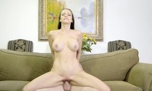 Sexually charged seductress Lexi Lune goes wild on a hard cock and gets doggy fucked AnySex