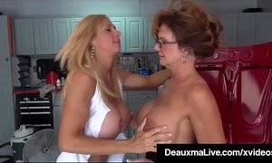 Texas Cougar Deauxma Pays Busty Mechanic Brooke Tyler w Sex! xVideos