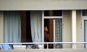 Neighbor in the window