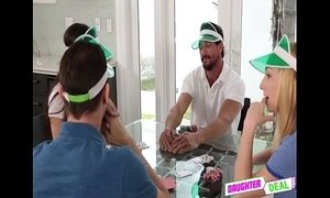 Gambling Night With Daddy - Shane Blair And Zoe Parker xVideos
