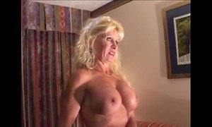 Busty Mature Blonde Bitch in Interracial Scene xVideos