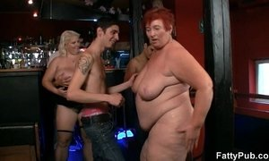 Three fatties join dirty party xVideos