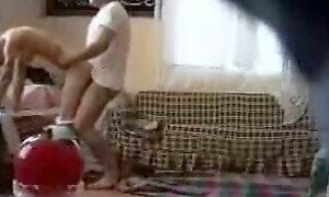 Arabic girl is fucked by neighbor spy cam video