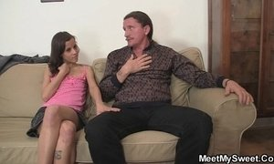 My slut involves my step parents into threesome fucking xVideos