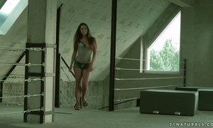 Graceful babe Amirah Adara allows big dick to penetrate her tight anus