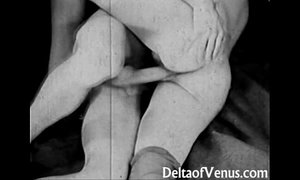 Vintage Porn from the 1930s - Girl-Girl-Guy Threesome xVideos
