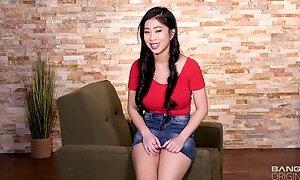 Cute asian whore got banged