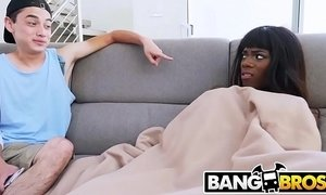 BANGBROS - Brown Bunnies Babe Ana Foxxx Fucks Her Horny Step Brother xVideos