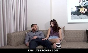 FamilyStrokes -   Bratty Teen Seduces New Step-Dad xVideos