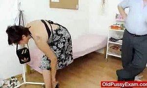 Redhead madam internal piss hole medical-tool exam xVideos