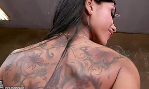 Amazing Kyra Black Shows Off In...