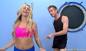 Yoga porn video featuring Danny D and Madelyn Monroe
