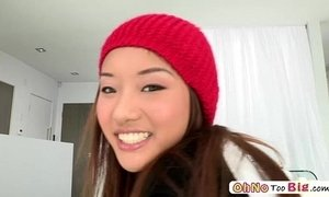 Monster cock screws teen pornstar Ana Li and she gets awarded with facial