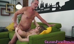 Teen spermed by old man xVideos