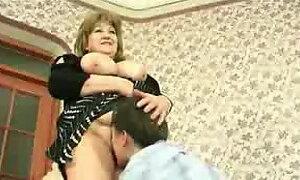 Russian granny molested husband friend