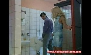 Horny Wife Fucks Stranger In Public Toilet xVideos