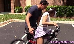Tiny latina teen rides xVideos