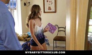 MyBabySittersClub - Babysitter Escort Fucked Then Hired xVideos