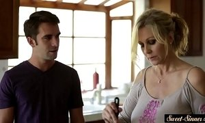 Busty milf fucked passionately by stepson xVideos