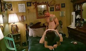 Hot amateur wife smokes while getting fucked good and hard