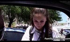 Teen Step Daughter Shows Dad How She Sucks Cock - xxxmilf.pro xVideos