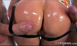 Huge boobs pornstar whore Eva Karera double penetrated