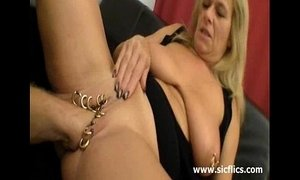 Huge fisting for her heavily pierced vagina xVideos