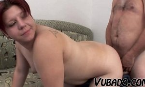 FAT TEEN FUCKS WITH OLD GUY !! xVideos
