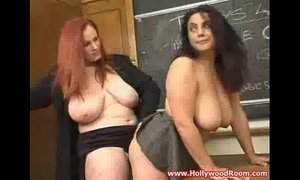 Hot teacher with big tits licks xVideos