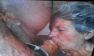granny sucks cock xVideos