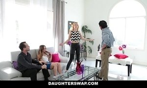DaugherSwap - Hot Teens Fuck Dads During Mardis-Gras xVideos