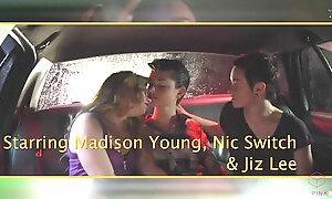 Taxi, Threesome, Kinky, Trio