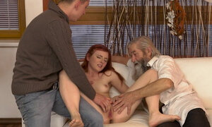 Unexpected experience with anolder man