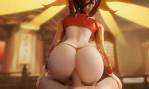 Harder Better Faster Hentai (3D HMV)