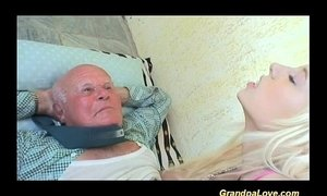 lucky day for grandpa xVideos