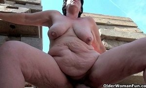BBW grandma still enjoys grandpa's tiny dick xVideos