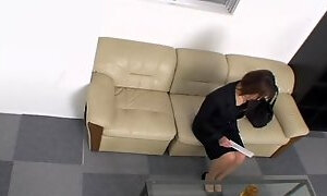 Skinny Jap screwed fast and creampied in hidden cam video