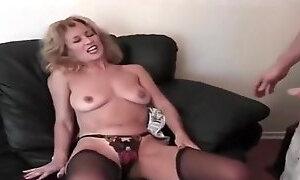 Adorable mature lady Mia Ivanova acting in a sperm shot porn movie